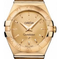 Omega Constellation Brushed Quartz - 123.50.24.60.08.001