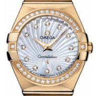 Omega Constellation Brushed Quartz - 123.55.27.60.55.003