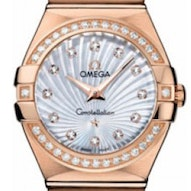 Omega Constellation Brushed Quartz - 123.55.27.60.55.001