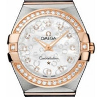 Omega Constellation Brushed Quartz - 123.25.27.60.55.009