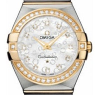 Omega Constellation Brushed Quartz - 123.25.27.60.55.010