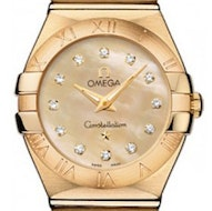 Omega Constellation Brushed Quartz Mini - 123.50.24.60.57.001