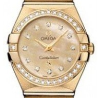 Omega Constellation Brushed Quartz - 123.55.24.60.57.001