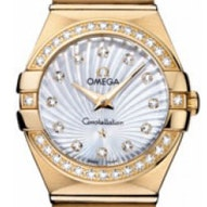 Omega Constellation Brushed Quartz - 123.55.24.60.55.003