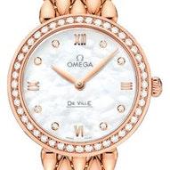 Omega De Ville Prestige Dewdrop Quartz  - 424.55.27.60.55.004