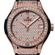 Hublot King Gold Full Pave  - 581.OX.9010.LR.1704