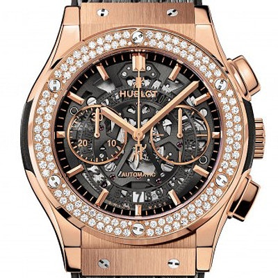 Hublot Classic Fusion Aerofusion King Gold Diamonds - 525.OX.0180.LR.1104