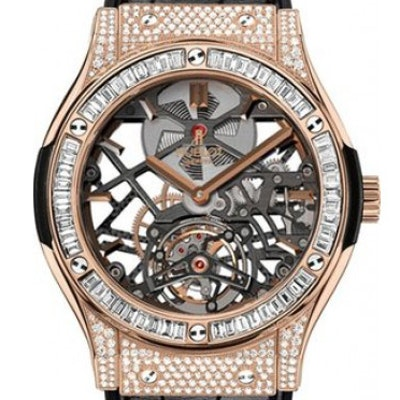 Hublot Classic Fusion Skeleton Tourbillon King - 505.OX.0180.LR.0904