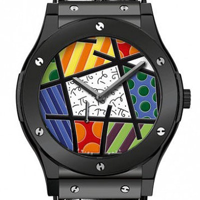 Hublot Classic Fusion Ultra-Thin Enamel Britto Ceramic - 515.CS.0910.LR