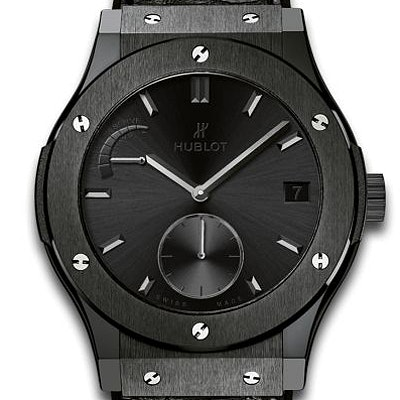 Hublot Classic Fusion Power Reserve All Black - 516.CM.1440.LR