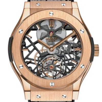 Hublot Classic Fusion Skeleton Tourbillon - 505.OX.0180.LR