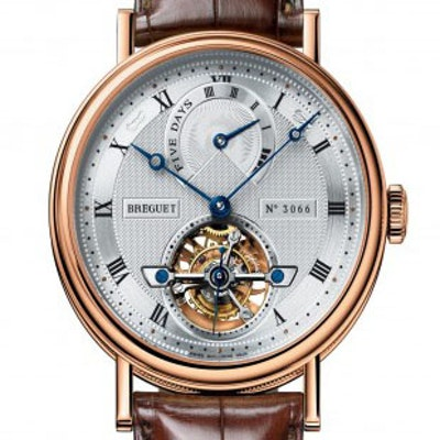 Breguet Classique Complications Tourbillon Power Reserve - 5317BR/12/9V6