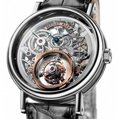 Breguet Classique Complications Messidor Grandes Complications Tourbillon - 5335PT/42/9W6