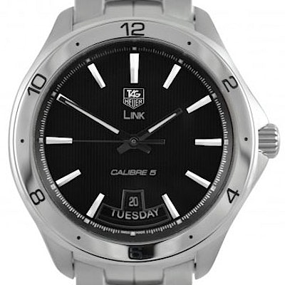 Tag Heuer Link Calibre 5 Day-Date Automatic - WAT2010.BA0951