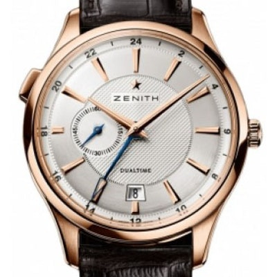 Zenith Captain Dual Time - 18.2130.682/02.C498