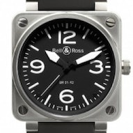 Bell & Ross BR01-92 Automatic 46mm - BR0192-BL-ST