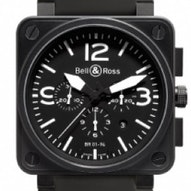 Bell & Ross BR01-94 Chronograph 46mm - BR0194-BL-CA