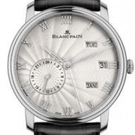 Blancpain Villeret Annual Calendar With GMT -  6670-1542-55B