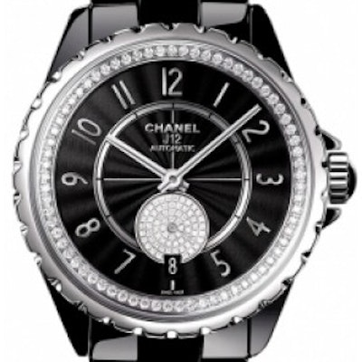 Chanel J12 Black Gem-Set  - H3840