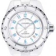 Chanel J12 White Blue Light - H3827