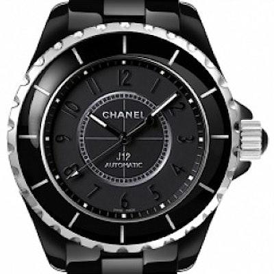 Chanel J12 Black Classic Intense  - H3829