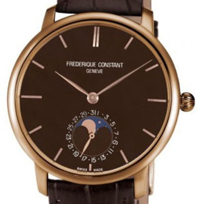 Frederique Constant Manufacture Slimline Moonphase - FC-705C4S9