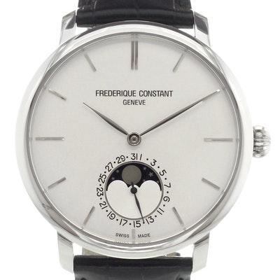 Frederique Constant Manufacture Slim Line Moonphase - FC-705S4S6
