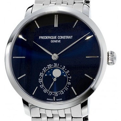 Frederique Constant Manufacture Slimline Moonphase - FC-705N4S6B