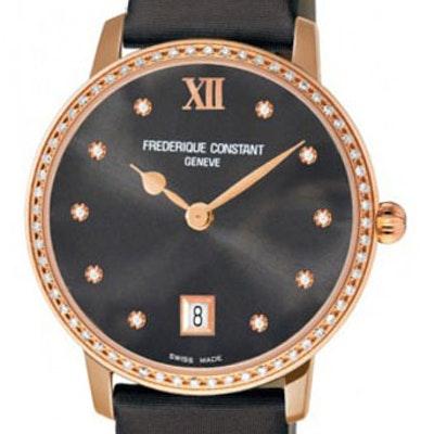 Frederique Constant Classics Slim Line Joaillerie - FC-220G4SD34