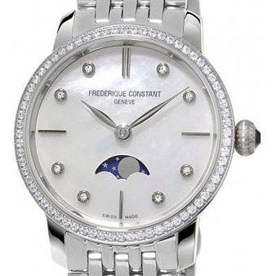 Frederique Constant Classics Slim Line Moonphase - FC-206MPWD1SD6B