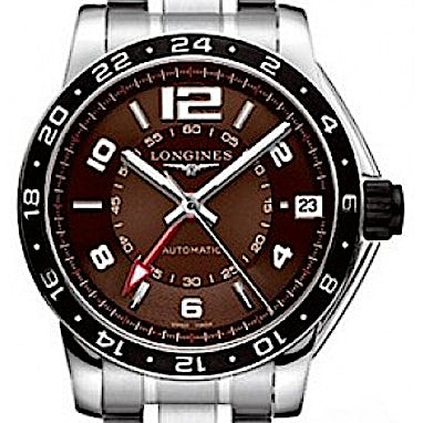 Longines Specialties Admiral GMT Second Time Zone - L3.668.4.66.6