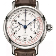 Longines Master Collection Pulsometer Chronograph  - L2.801.4.23.2
