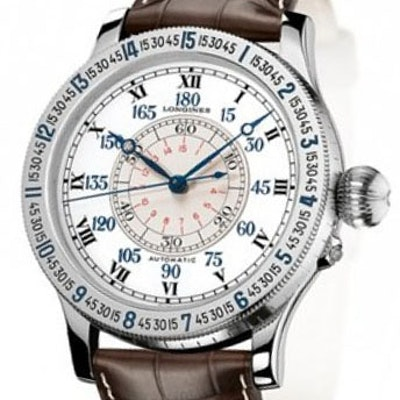 Longines Heritage Lindbergh Hour Angle Watch - L2.678.4.11.0
