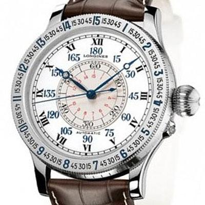 Longines Heritage Lindbergh Hour Angle Watch - L2.678.4.11.0