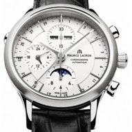 Maurice Lacroix Les Classiques Chronograph Phase de Lune  - LC6078-SS001-13E