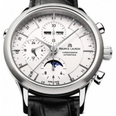 Maurice Lacroix Les Classiques Phase de Lune Chronographe - LC6078-SS001-13E