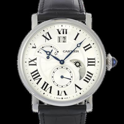 Cartier Rotonde Großdatum retrograde zweite Zeitzone und Tag- und Nachtanzeige - W1556368