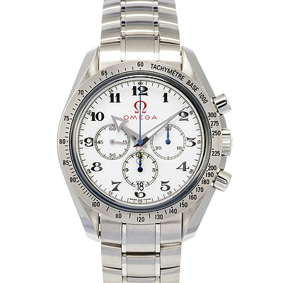 Omega Speedmaster Broad Arrow Olympic Games Collection - 321.10.42.50.04.001