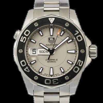 Tag Heuer Aquaracer 500M Calibre 5  - WAJ2111.BA0870