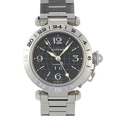Cartier Pasha GMT - 2550