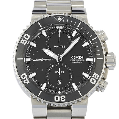 Oris Aquis Chronograph - 01 774 7655 4154-07 8 26 01PEB
