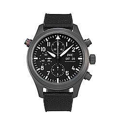 "IWC Pilot's Watch Double Chronograph Top Gun Ceratanium ""SIHH 2019"" - IW371815"