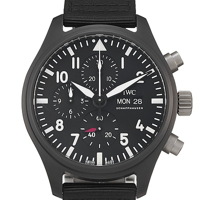 "IWC Pilot's Watch Chronograph Top Gun ""SIHH 2019"" - IW389101"