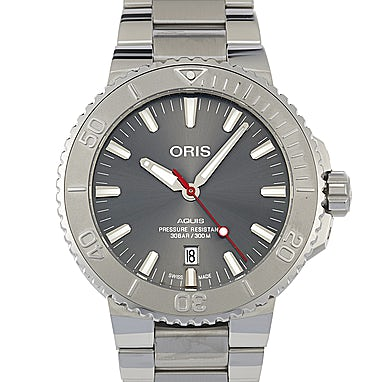 Oris Aquis Date Relief - 01 733 7730 4153-07 8 24 05PEB