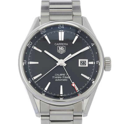 Tag Heuer Carrera Calibre 7 Twin Time Automatic - WAR2010.BA0723