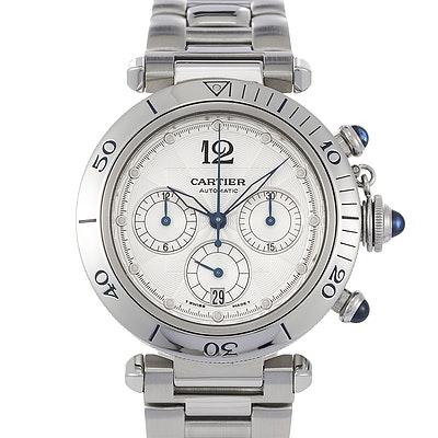 Cartier Pasha Chronograph - W31030H3