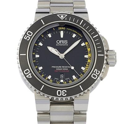 Oris Aquis Depth Gauge - 01 733 7675 4154-Set