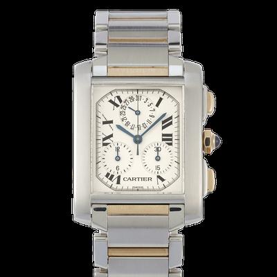 Cartier Tank Francaise Chronograph - W51004Q4