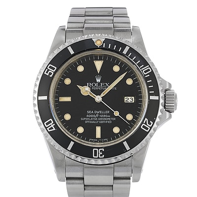 Rolex Sea-Dweller Triple Six Spider Dial - 16660