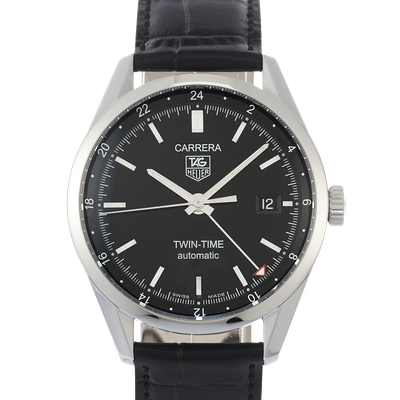 Tag Heuer Carrera Calibre 7 Twin Time - WV2115.FC6180
